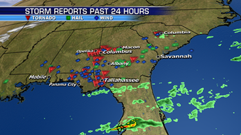 Storms responsible for spreading deadly tornadoes across Southeast move into Atlantic