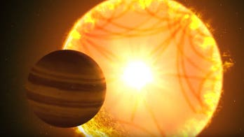 Starquakes rock alien sun, revealing details of a 'Hot Saturn'