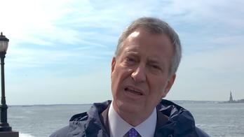 Bill de Blasio, pitching $10B climate change plan, blames global warming for Hurricane Sandy