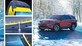2020 Ford Explorer fitted with flat-proof tires