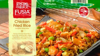Chicken fried rice skillet meals recalled over undeclared allergens