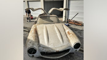 Moldy Mercedes-Benz stored for six decades could be worth $1.5 million
