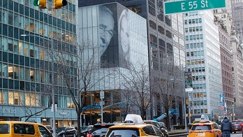 Billionaire marks marriage with Park Avenue installation, a possible message to ex-wife