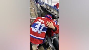 Montreal Canadiens goalie meets young fan, 11, who lost mother to cancer, fulfilling her dying wish
