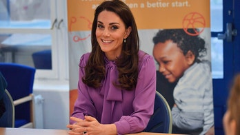 Kate Middleton sports Gucci blouse, trousers during solo outing in London