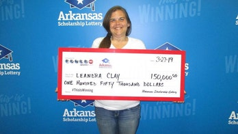 Arkansas woman wins $150G Powerball prize a month after losing home: 'He's an on-time God'