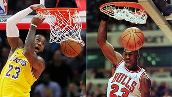 Michael Jordan overwhelmingly voted greatest hoops star ever, topping Lebron James