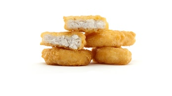 McDonald's fan stuns date with chicken nuggets she forgot were hidden in her bra