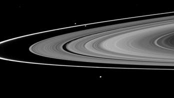 Why Saturn's 'ring moons' are different colors and shapes