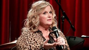 Trisha Yearwood suffered a major wardrobe malfunction onstage while touring with husband Garth Brooks