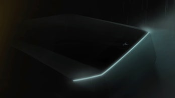 Tesla's 'cyberpunk' pickup teased in shadowy image