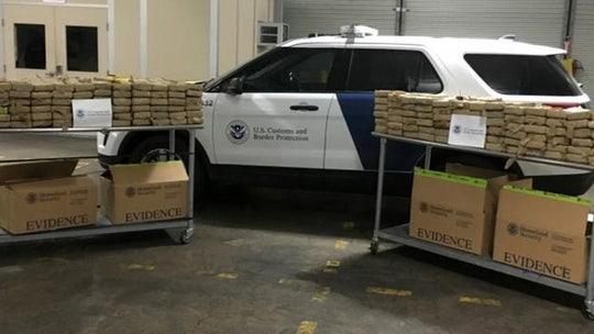 $38M worth of cocaine seized in Philadelphia port, CBP says