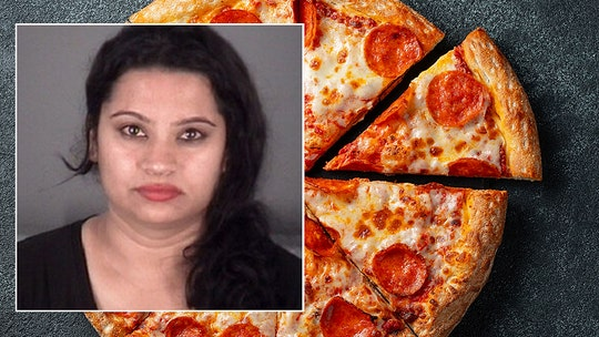 Woman pelts pizzeria employee with pizza slices, claims cheese made her son sick