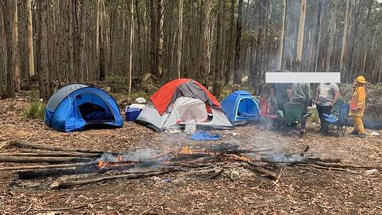 Firefighters slam 'idiot' first-time campers for fire in 'controversial' Facebook post