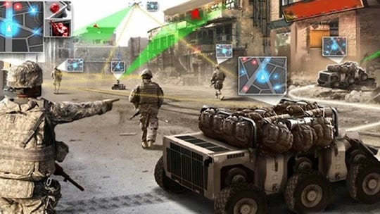 DARPA wants to 'fuse' grenades, drones, robots and ground radar for US Army