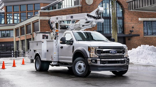 Ford F-600 returns with 'Godzilla' V8