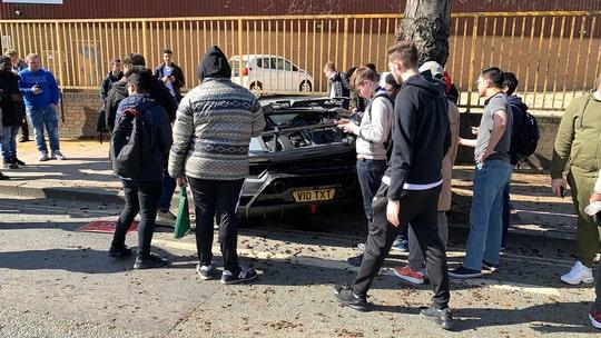 Video captures driver wrecking $280,000 Lamborghini outside supercar meet