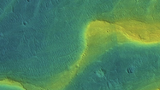 Mars was once covered in wide, raging rivers