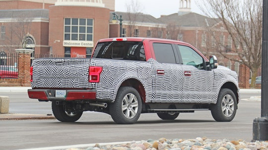 Electric Ford F-150 spotted with independent rear suspension