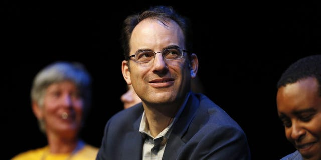 "Phil Weiser, seen here in October 2018, said sheriffs unwilling to enforce Colorado's ""red flag"" bill should resign."