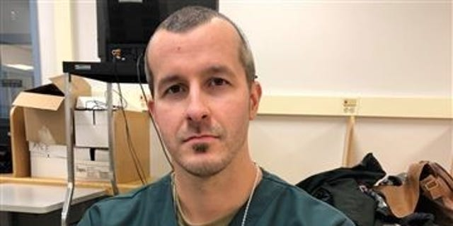 Photo of Chris Watts in prison during the five-hour interview where he detailed murdering his pregnant wife and two daughters.