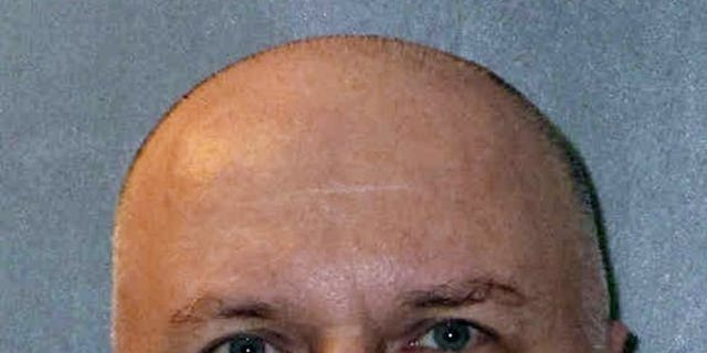 """This undated photo provided by the Texas Department of Criminal Justice shows Patrick Murphy, a member of the notorious """"Texas 7"""" gang of escaped prisoners who was scheduled to be executed Thursday, March 28, 2019."""