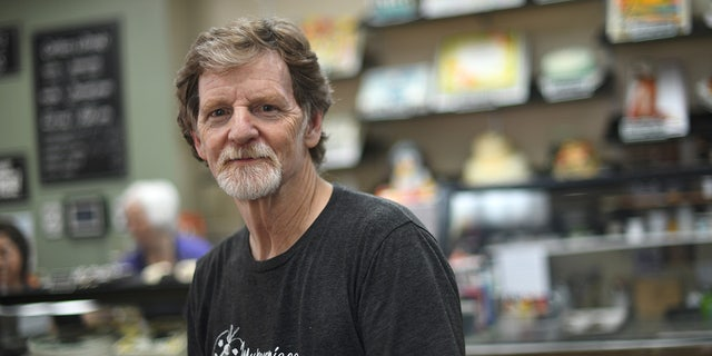 LAKEWOOD, CO - AUGUST 15: Baker Jack Phillips, owner of Masterpiece Cakeshop, manages his shop in Lakewood, Colo. August 15, 2018.