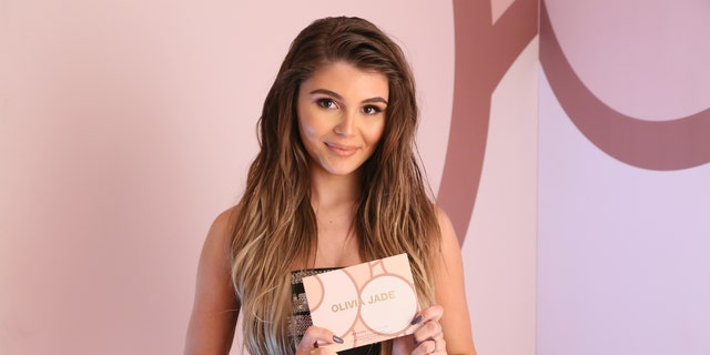 Olivia Jade Giannulli celebrates the Olivia Jade X Sephora Collection Palette Collaboration Launching Online at Sephora.com on December 14, 2018 in West Hollywood, Calif. (Photo by Gabriel Olsen/Getty Images for Sephora Collection)