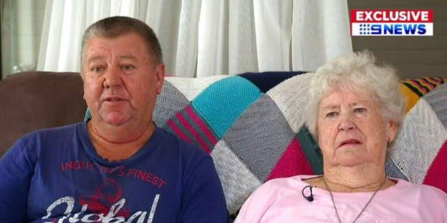 Марія Фітцджеральд, бабуся підозрюваного, і Террі Фітцджеральд, підозрюваний у дядьку, говорив після зйомок у Новій Зеландії