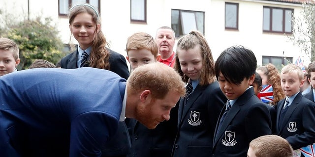 Prince Harry reportedly had to convince the boy he was in fact Prince Harry