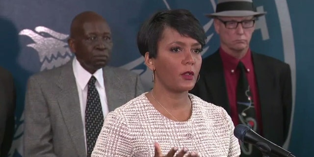 Atlanta Mayor Keisha Lance Bottoms called for justice in Secoriea Turner's death during an emotional news conference with the girl's grief-stricken mother