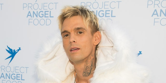 Aaron Carter attends Project Angel Food's 2017 Angel Awards at Project Angel Food on Aug. 19, 2017 in Los Angeles, Calif.