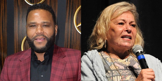 Anthony Anderson commented on Roseanne Barr's recent rant during an interview.