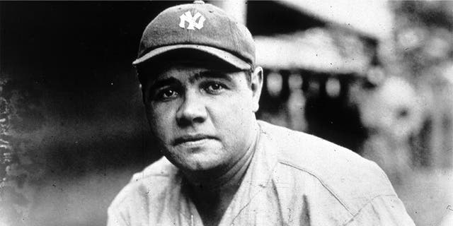 American baseball player George Herman Ruth, known as 'Babe' Ruth, is considered one of the greatest baseball players of all time. He started his career as a pitcher for the Boston Red Sox, but is best known for his time with the New York Yankees. (Photo by MPI/Getty Images)