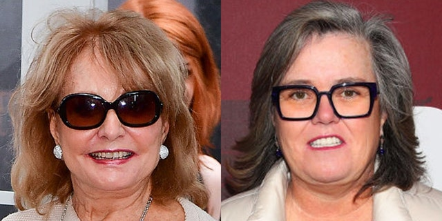 'The View's' Barbara Walters reportedly once threatened to quit the ABC daytime talk show if Rosie O'Donnell re-signed.