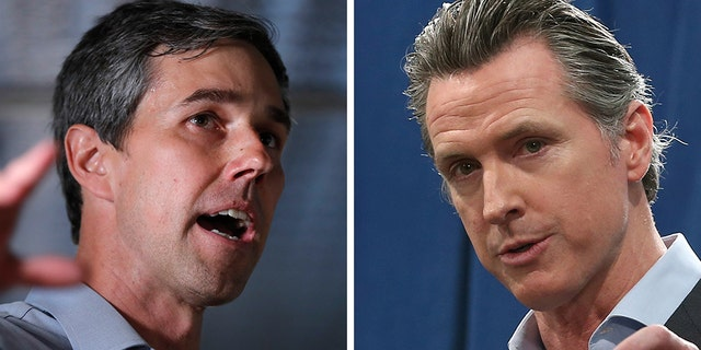 Rep. Beto O'Rourke, D-Texas, was asked specifically about a recent decision by California Gov. Gavin Newsom to sign an executive order halting executions for 737 death row inmates.