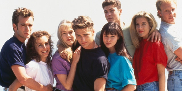 """""""Beverly Hills 90210"""" was a pioneer in its examination of teen issues such as love, sex, date rape, drug abuse, alcoholism, eating disorders, teen pregnancy, and many more. It sparked several spin-offs and made its young stars huge in Hollywood."""
