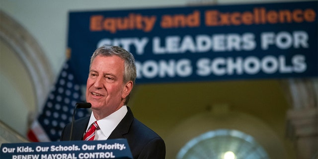 """New York City public schools are expanding their """"Meatless Mondays"""" program in the fall. """"Cutting back on meat a little will improve New Yorkers' health and reduce greenhouse gas emissions,"""" saidMayor Bill de Blasio in a statement. (AP)"""