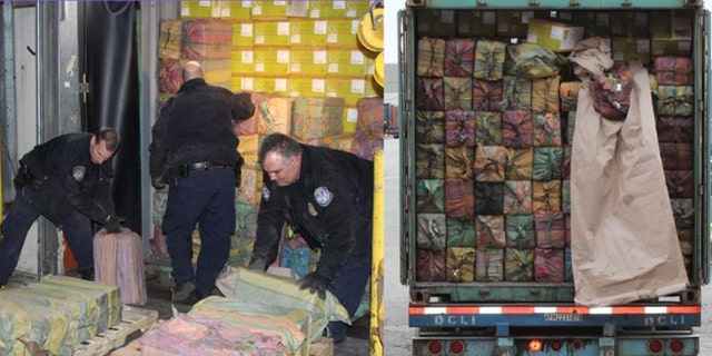 New Jersey's largest port drug bust in many years sees 3,200 kilos