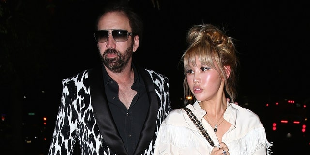Nicolas Cage, left, filed for an annulment of his marriage to Erika Koike just four days after tying the knot in Las Vegas.