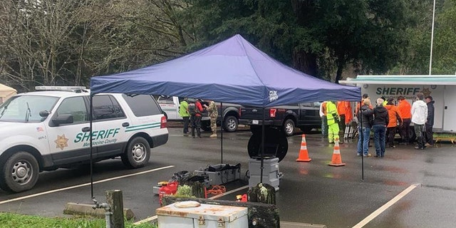 At least 10 search teams are involved in the search for Leia and Caroline Carrico.