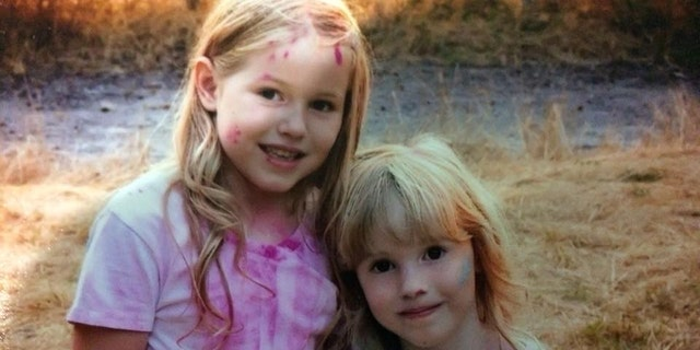 Leia (left) and Caroline are seen in this undated photo.. The Humboldt County Sheriff's Office said the two girls were reported missing on Friday.