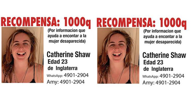 Catherine Shaw had been traveling since last September.