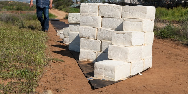 Cosimo Cavallaro is currently using blocks of cotija to spark a dialogue about President Trump's border wall.