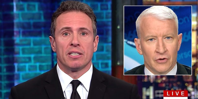 Chris Cuomo and Anderson Cooper are partial of CNN's struggling primetime lineup that mislaid 38% of a assembly in a pivotal demo during a second entertain of 2019.