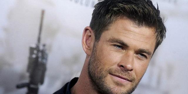 Actor Chris Hemsworth. (Associated Press)