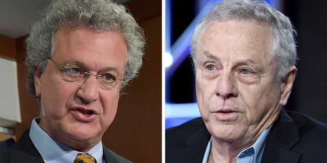 """On Friday, SPLC President Richard Cohen (left) announced he would be stepping down from the civil rights organization amid the controversy. It came afterco-founder Morris Dees was fired over """"inappropriate conduct."""""""