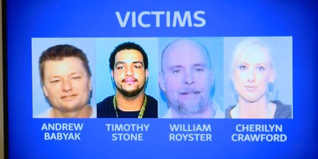 All four were found dead in an apartment in south Charlotte on March 24, 2008.