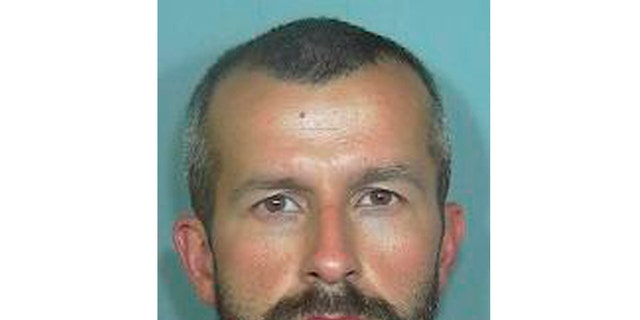 This undated file photo from the Weld County Sheriff's Office shows Chris Watts, who pleaded guilty in the deaths of his pregnant wife, 34-year-old Shanann Watts, and their two daughters, 4-year-old Bella and 3-year-old Celeste. Documents show Watts has acknowledged to investigators that he strangled his wife in their bed then drove her body and the girls to a worksite, where he smothered the girls using a blanket. Watts made the statements during a prison interview with detectives three months after he was sentenced to life in prison. Authorities said they believe the grim details represent Watts' first full confession.