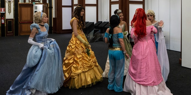 A family in Brookmans Park, UK, is looking for a part-time nanny to be a full-time Disney princess for their five-year-old twin girls.